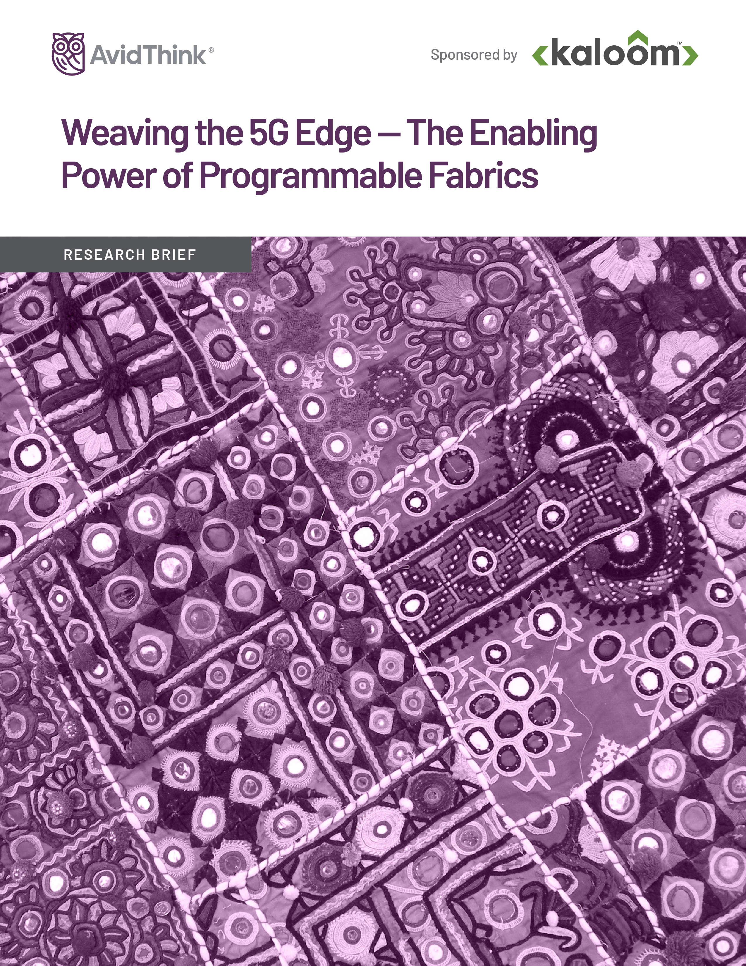 AvidThink-Kaloom-Weaving-the-5G-Edge-The-Enabling-Power-of-Programmable-Fabrics-Research-Brief-2020-F cover-01